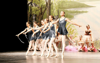 Ballet dancers and athletes have much in common