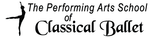 Performing Arts School of Classical Ballet Mobile Logo