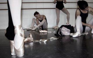 Balancing school and ballet class