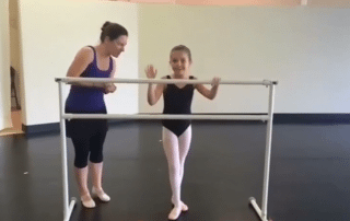 San Antonio Ballet Lessons Sauté échappé