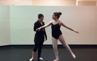 San Antonio Ballet Lessons Tombe Pas de Bourree