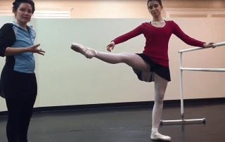 San Antonio Ballet Lessons Développé