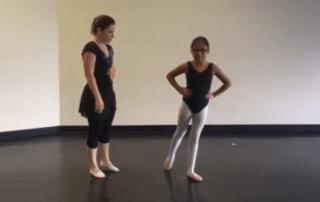 San Antonio Classical Ballet Lesson En Dehors