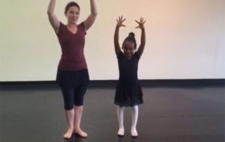 San Antonio Classical Ballet Lessons Arms 3rd Position